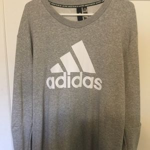 Grey Adidas Sweatshirt
